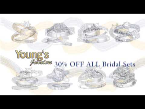 Youngs Jewelers Bridal Sets Sale
