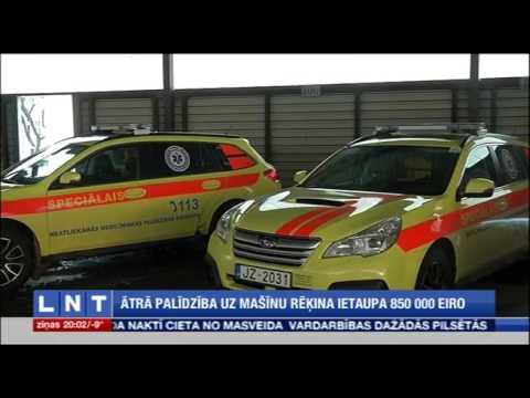 Veselības ministrs Dr. Guntis Belēvičs: NMPD uz auto rēķina ietaupa 850 tūkstošus eiro