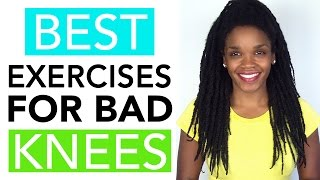 Video Topic: Best Exercises to Lose Weight If You Have Bad Knees (Shop: http://bit.ly/2lblZHj)If you have bad knees and you're trying to lose weight, you'll definitely want to check out this video where I'll share a few great, low impact exercises that can help you burn calories and lose weight without stressing your knees. Overall, knee pain can have several causes and 2 common causes are: 1) being overweight, and 2) having weak leg/hip/thigh muscles. Fortunately, there are great exercises you can do that won't cause additional knee pain, plus strengthening the muscles around the knee plays a big role in pain reduction. So in addition to cardio workouts like the ones I mention in the video (like walking), you also want to perform strength training exercises like weight lifting, which will help strengthen your leg muscles and further reduce stress on your knees. The stronger the muscles around the knee, the less strain on the joint itself. Also remember, if you're having knee pain, you should check with your doctor to ensure the following exercises and tips are right for you.Enjoy the video!xoxo – DocEnjoyed this video? Please Like, Share, and Subscribe!Links You'll Love: *Dr. Phoenyx's FitBeauty Shop https://www.drphoenyx.com/shop*Dr. Phoenyx's FitBeauty Shop on Amazon http://amzn.to/2ebQdri** Get my FREE eBook http://bit.ly/2j5zSW2Follow Dr. Phoenyx on:Website      https://drphoenyx.comFacebook    https://www.facebook.com/DrPhoenyx/Instagram    https://www.instagram.com/drphoenyx/_______________________** Dr. Phoenyx Austin, MD is the founder of the FitBeauty Shop and the creator of Dr. Phoenyx Nutrition. A fitness entrepreneur, best-selling author, and certified Sports Nutrition Specialist, Dr. Phoenyx provides nutrition products and practical tips to help women achieve a fit and beautiful body from the inside out!***DISCLAIMER:Dr. Phoenyx Austin and Dr. Phoenyx LLC strongly recommend that you consult with your physician before beginning any exercise or diet prog