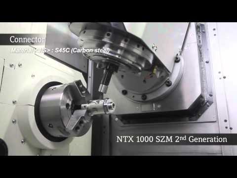 NTX 1000 2nd Generation   コネクタ/Connector (видео)