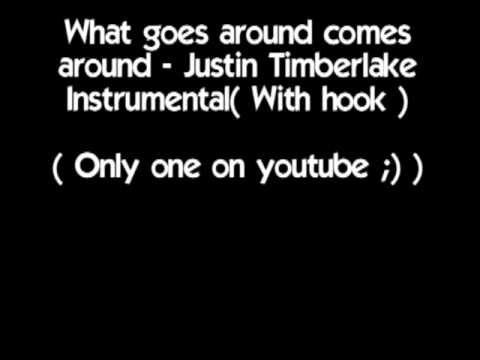 What Goes Around Comes Around - Justin Timberlake( Instrumental With Hook )