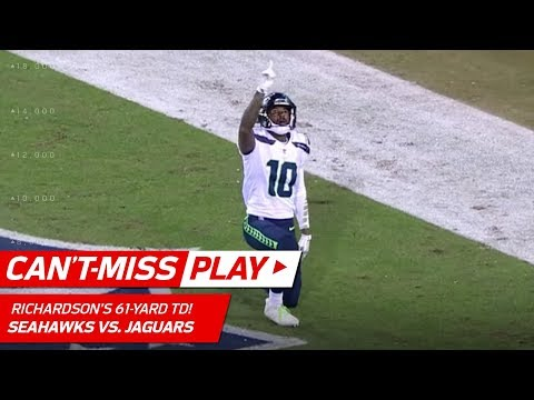 Video: Russell Wilson Avoids Sack & Bombs it to Paul Richardson for 61-Yd TD | Can't-Miss Play | NFL Wk 14