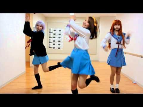 【ハレ晴レユカイ】女子大生がコスプレで踊ってみた【涼宮ハルヒ】