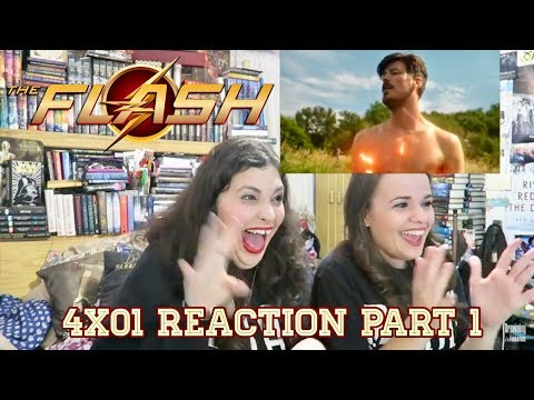 "THE FLASH 4X01 ""THE FLASH REBORN"" REACTION PART 1"