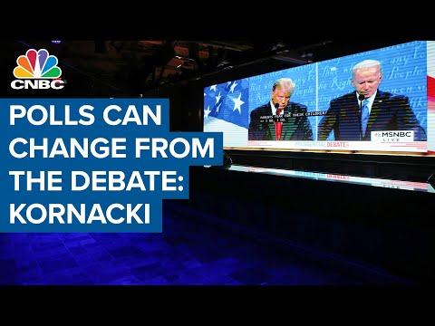 Polling can change based on the performance of the last presidential debate: Steve Kornacki