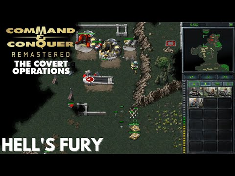 Command & Conquer Remastered - Covert Operations - HELL'S FURY (Hard)