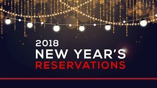 Day 180 - New Year's Reservations
