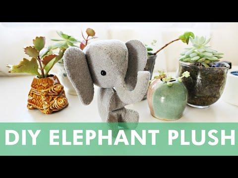 DIY Mini Elephant Plush | LDP