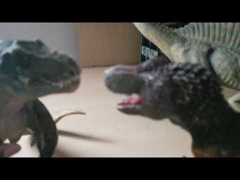 Godzilla and rexy season 8 episode 36 tyranent new family