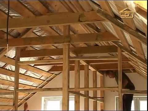 Как сделать второй этаж под крышей