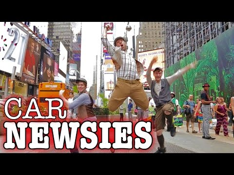 King - This is what happens when Derek D has the idea to promote the show he hosts, Fast Lane Daily, in the style of the popular movie and Broadway play, Newsies! Anyone familiar with it will recognize...