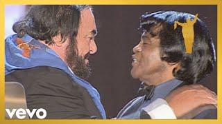 Video Luciano Pavarotti, James Brown - It's A Man's Man's Man's World (Stereo) MP3, 3GP, MP4, WEBM, AVI, FLV Agustus 2019