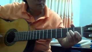 Triệu đoá hoa hồng-guitar-Hoàng Anh Hải