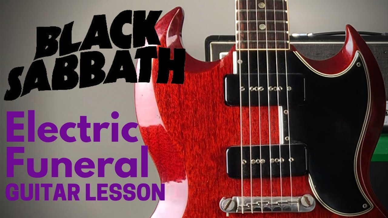 Black Sabbath Guitar Lesson – Electric Funeral – E Standard Tuning