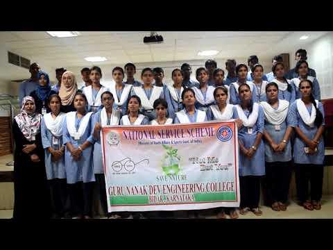 Video NSS Song - Kannada | GNDEC Bidar | NSS Unit | Dr.Anil Shantappa download in MP3, 3GP, MP4, WEBM, AVI, FLV January 2017