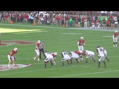 Richard Rodgers 62-yard catch vs Stanford 2013 video.