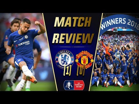 CONTE ENDS CHELSEA REIGN WITH A CUP WIN! || Chelsea 1-0 Man United FA Cup Final Match Review