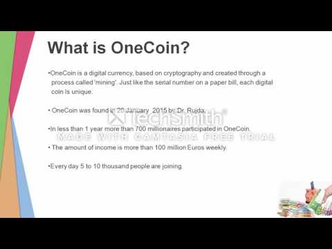 Onecoin Party 1