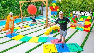 Video WORLDS LARGEST BOARD GAME!! (WINNER GETS $10,000) MP3, 3GP, MP4, WEBM, AVI, FLV Juni 2019