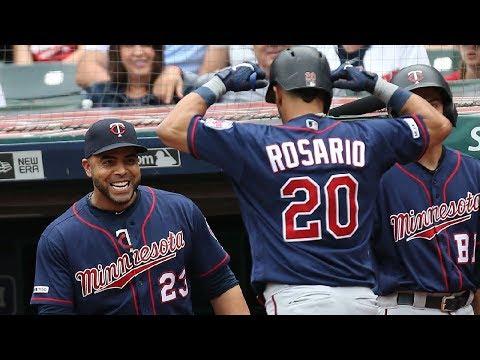 Eddie Rosario's 2 Homer Game vs. Indians | September 15, 2019 | 2019 MLB Season