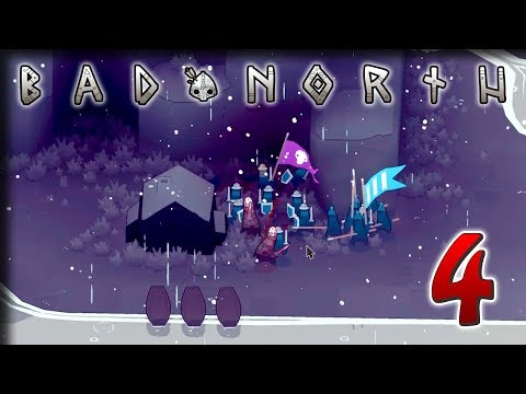 Winter Has Come – Let's Play Bad North – Part 4 (видео)