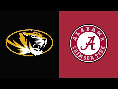 Week 7 2018 Missouri vs #1 Alabama Full Game Highlights
