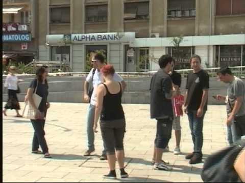 Filmska ekipa Interakcije na prijemu kod gradonačelnika
