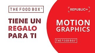 The Food Box - Sobre Rojo