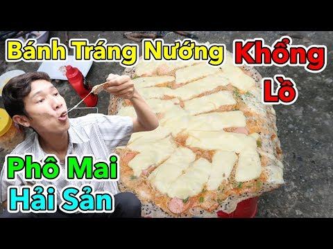 Lâm Vlog - Làm Bánh Tráng Nướng Khổng Lồ | Bánh Tráng Nướng Hải Sản Phô Mai Mozzarella - Thời lượng: 10:42.