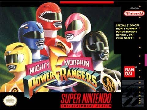 mighty morphin power rangers super nintendo game
