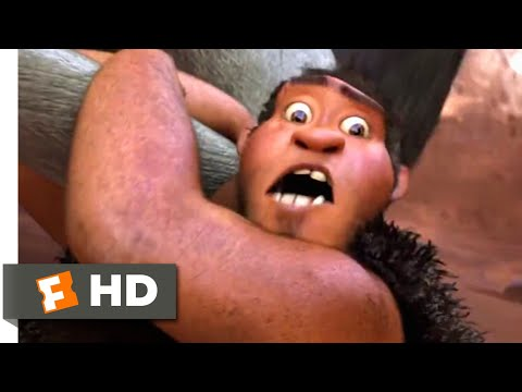 The Croods (2013) - Hunting For Breakfast Scene (1/10) | Movieclips