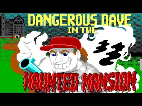 Страшный Дом (Dangerous Dave in the Haunted Mansion)