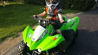 5. 2016 Kawasaki KFX 50 Youth ATV