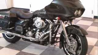 7. Road Glide Harley-Davidson 2009 start-up (Black Pearl)