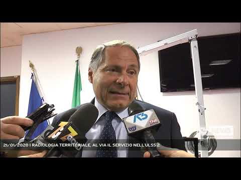 21/01/2020 | RADIOLOGIA TERRITORIALE, AL VIA IL SERVIZIO NELL'ULSS 2