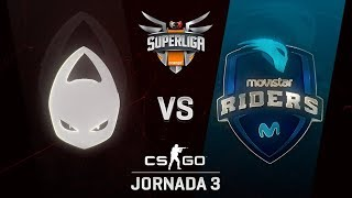 X6TENCE VS MOVISTAR RIDERS - MAPA 1 - SUPERLIGA ORANGE - #SUPERLIGAORANGECSGO3