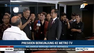 Video Jokowi Berkunjung ke Metro TV MP3, 3GP, MP4, WEBM, AVI, FLV Desember 2018