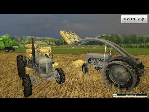 FARM SIM SATURDAY  a trip back to England for farming with Landykid 1080p