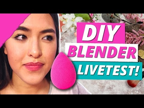 DIY BEAUTY BLENDER im LIVE TEST w/Shanti Tan - Make Up Mythbusters
