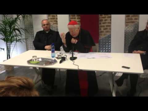 Il cardinale Scola inaugura Stoà