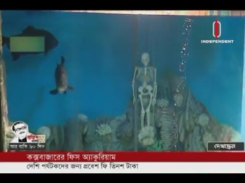 Cox's Bazar's Fish Aquarium entry fee tk 300 for local tourists (16-01-20) Courtesy: Independent TV