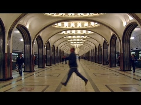 moscow - http://www.euronews.com/ In the penultimate episode of Russian life, euronews explores the capital Moscow. We began with the city's famous underground. Carry...