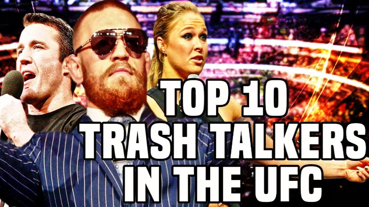 Top 10: Best Trash Talkers In UFC History