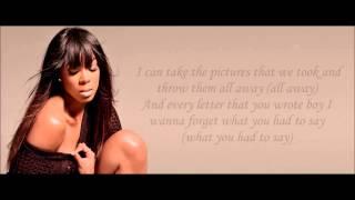 Kelly Rowland - Broken Lyrics HD