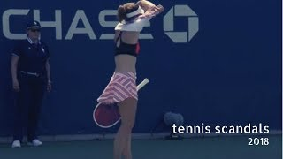 Video Tennis TOP5. Scandals and Tantrums in 2018 MP3, 3GP, MP4, WEBM, AVI, FLV Januari 2019