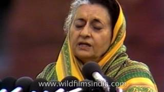 Video Indira Gandhi gives a speech (Hindi): archival footage from 1982 MP3, 3GP, MP4, WEBM, AVI, FLV April 2018