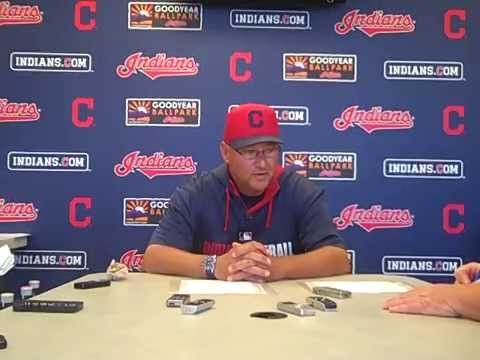 VIDEO: Terry Francona talks about Harang and rotation