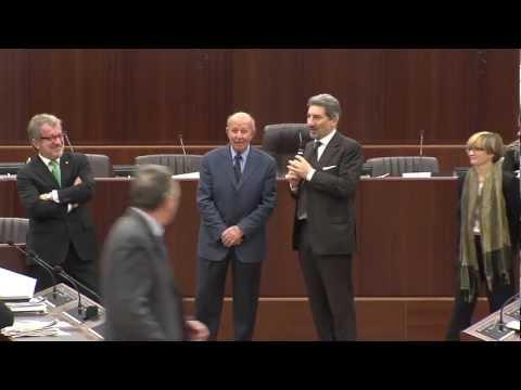 Sindaco di Curiglia premiato in Consiglio regionale