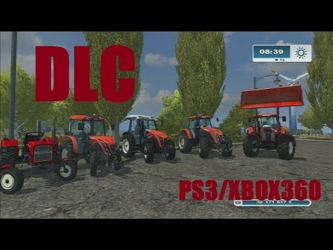 farming simulator 2013 NOUVEAUX DLC classic pack+ursus  PS3/XBOX360 HD