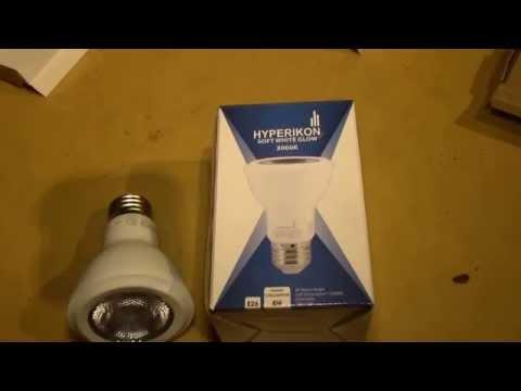 Hyperikon 8W/PAR20 LED Bulb, Part 2